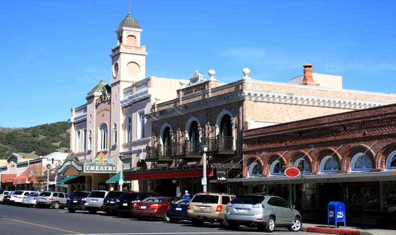 Sebastiani Theater & Ledson Hotel