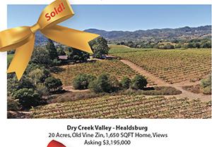 Dry Creek Valley - Healdsburg Vineyard Estate