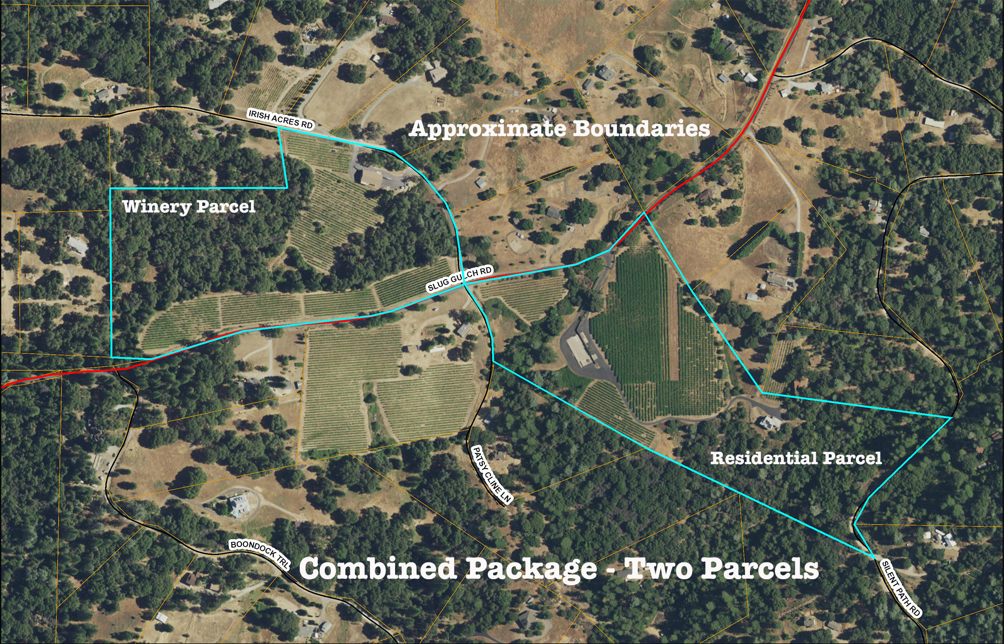 Sierra Foothills Vineyard Estate Fairplay