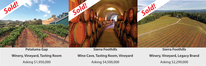 sold wineries